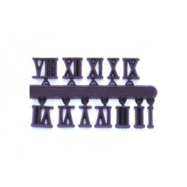 19mm Full Roman Numerals Black available online - The ...
