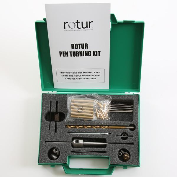 Rotur Pen Turning Kit Boxed 1mt Available Online The